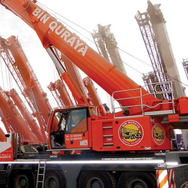 Cranes and Earthmoving Equipment's and Transportation