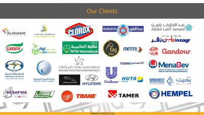 Wide Variety of clients